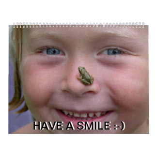 Have A Smile All Year  Calendar