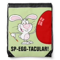 Have a Spectacular Easter Drawstring Backpack