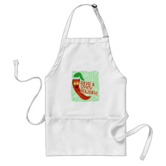 Have A Spicy Holiday Adult Apron