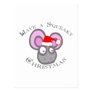 Have a Squeaky Christmas! Postcard