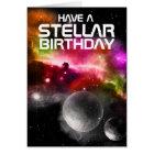 Have a Stellar Birthday Greeting card