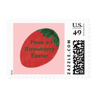 Have a Strawberry Easter Postage Stamps