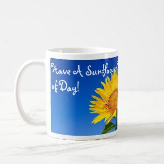 Have A Sunflower Kindof Day! Coffee Mugs