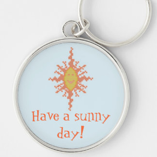 Have a sunny day! Keychain
