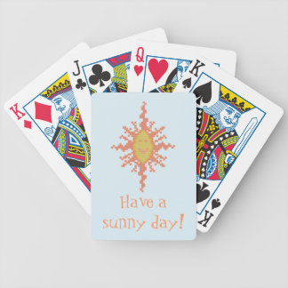 Have a Sunny Day Playing Cards