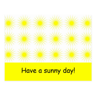 Have a sunny day - Postcard