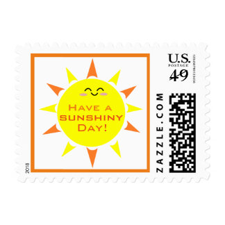 Have a Sunshiny Day Postage Stamp