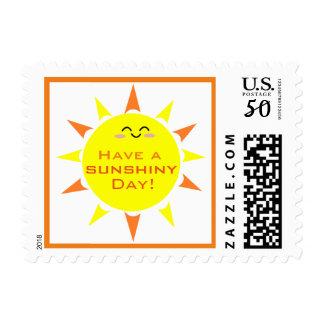 Have a Sunshiny Day Postage Stamp