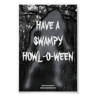 Have A Swampy Howl-O-Ween Poster