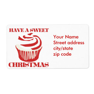 Have a Sweet Christmas Label