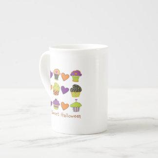 Have A Sweet Halloween Cupcake Tees, Gifts Porcelain Mugs