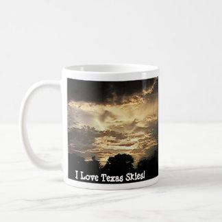 Have a Texas Sunset With Your Coffee! Coffee Mugs