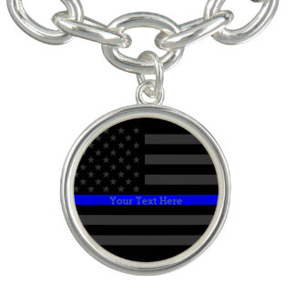 thin blue line jewelry zazzle. Black Bedroom Furniture Sets. Home Design Ideas