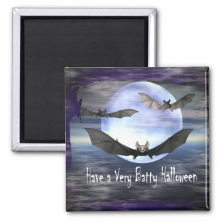 Have a Very Batty Halloween Magnet