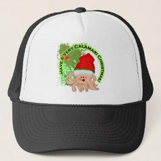 Have a Very Calamari Christmas! Trucker Hat