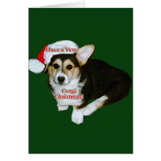 Have a Very Corgi Christmas- Gimli Card