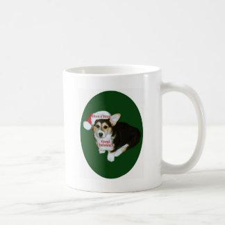 Have a Very Corgi Christmas- Gimli Classic White Coffee Mug