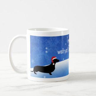 Have a Weinerful Holiday Dachshund Christmas Mug