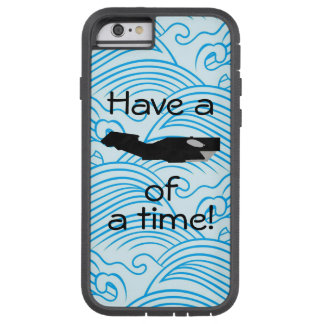 """""""Have a whale of a time"""" Phone Case version 2"""