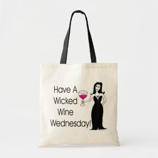 Have A Wicked Wine Wednesday! Wine Vixen Canvas Bags