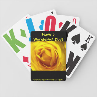 Have a Wonderful Day Playing Cards