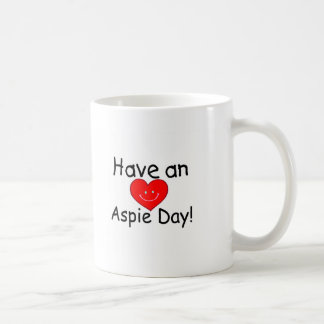 Have an Aspie Day (Heart) Mugs