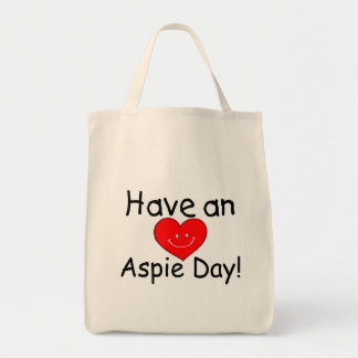 Have an Aspie Day (Heart) Tote Bag