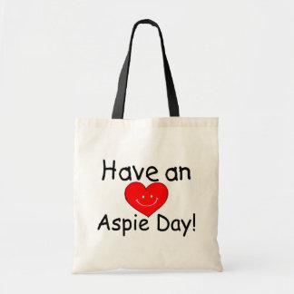 Have an Aspie Day (Hrt) Tote Bag