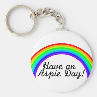 Have An Aspie Day Key Chain