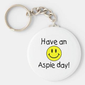Have An Aspie Day Keychain
