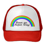 Have An Aspie Day Mesh Hat