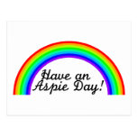 Have An Aspie Day Postcards