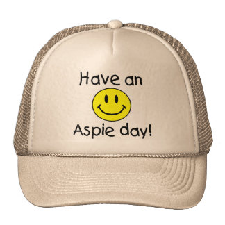 Have An Aspie Day (Smiley) Hat