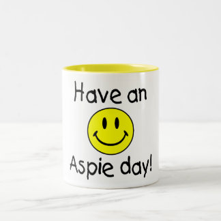 Have An Aspie Day (Smiley) Mug