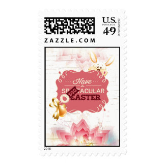 Have An Eggtacular Easter Postage Stamps