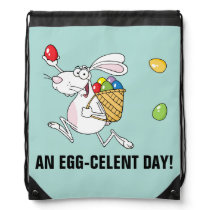 Have an Excellent Easter Drawstring Backpack