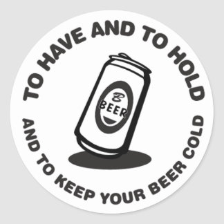 Have and Hold Beer Cold Sticker