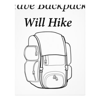 Have Backpack Will Hike Letterhead