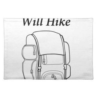 Have Backpack Will Hike Placemat
