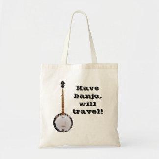 Have Banjo, Will Travel tote bag