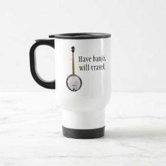 Have Banjo, Will Travel Travel Mug