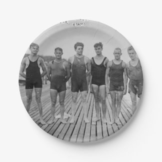 """Have Beach Barbeque & Bring The 1912 Team 7"""" Plate"""