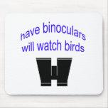 have binos will watch birds mousepads