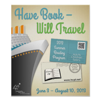 Have Book-Will Travel Poster