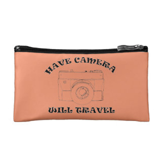 Have Camera Will Travel - Cosmetics Bag