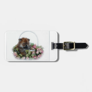 Have Chow Will Travel Travel Bag Tag