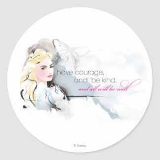 Have Courage Classic Round Sticker