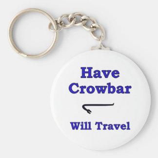 Have crowbar will travel keychain