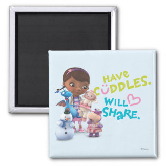 Have Cuddles Will Share Refrigerator Magnets