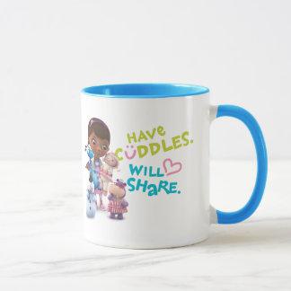 Have Cuddles Will Share Mug